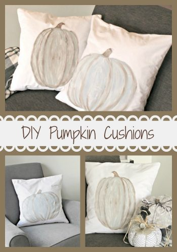 Pumpkin Cushions Pinterest