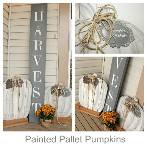 DIY, Pumpkin, Pallet, Fall