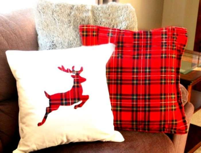Handmade DIY Christmas Cushions