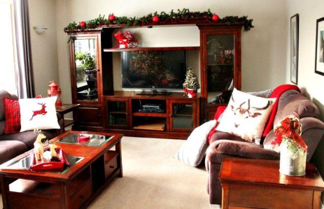Christmas, Home Tour, Holidays, Tartan, Reindeer