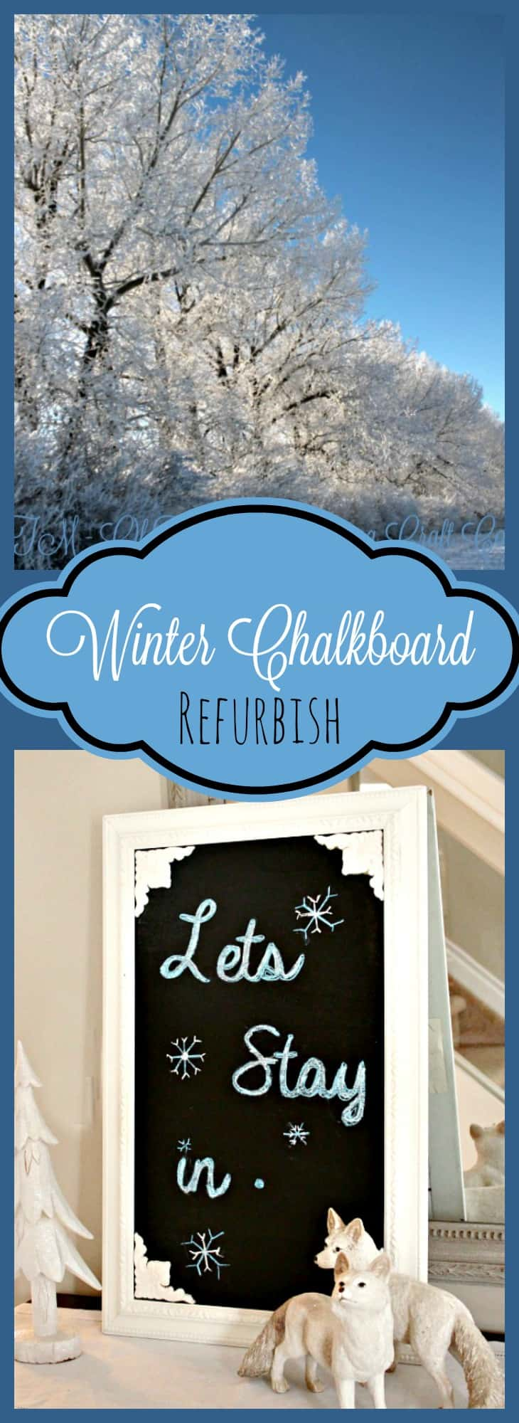 Winter Decor, DIY