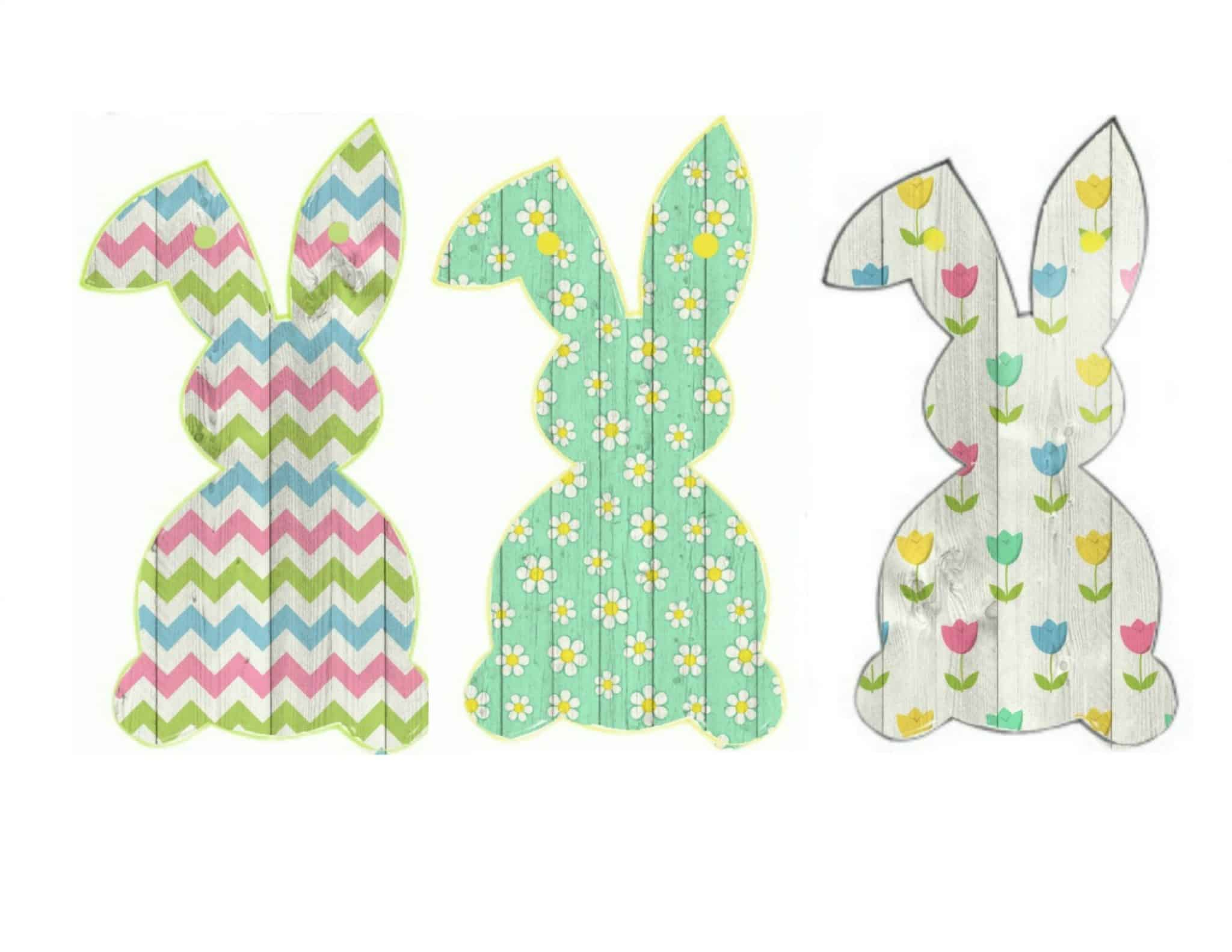 Free Easter Bunny Banner Printable Of Faeries Fauna