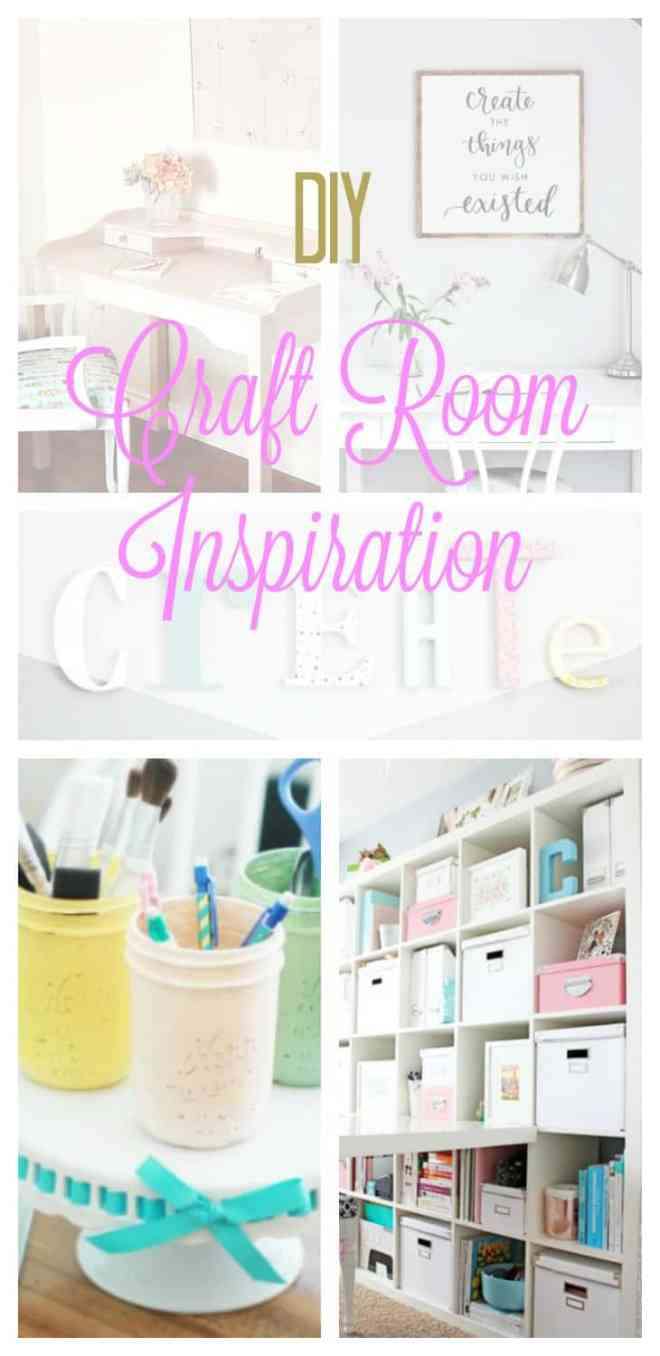 craft room containers, pretty craft room containers, diy craft room containers, mason jar containers, Craft room, DIY Craft rooms, DIY craft websites, DIY Home Decor, Organization, Craft Organization,