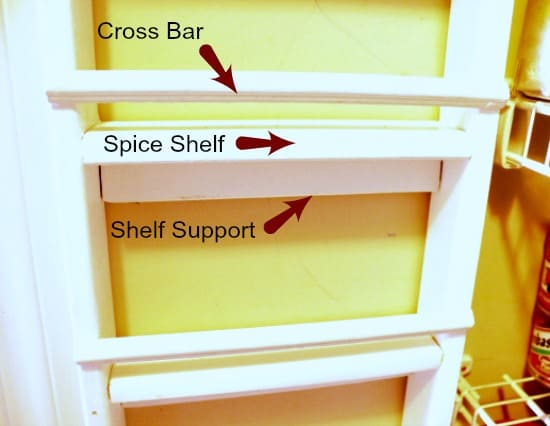DIY Sprice Rack No Counter Required