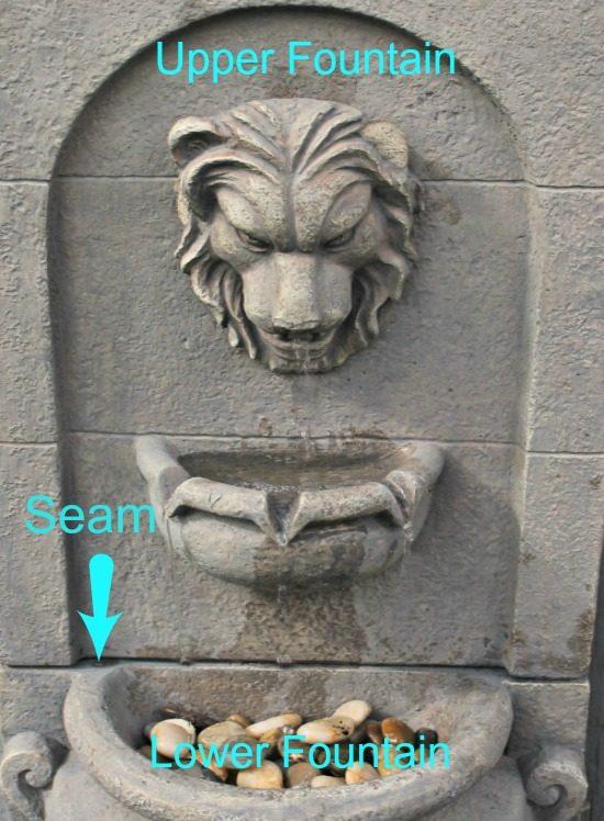 silicone repair,fountain repairhow to fix a fountain, garden fountains, cheap water fountain