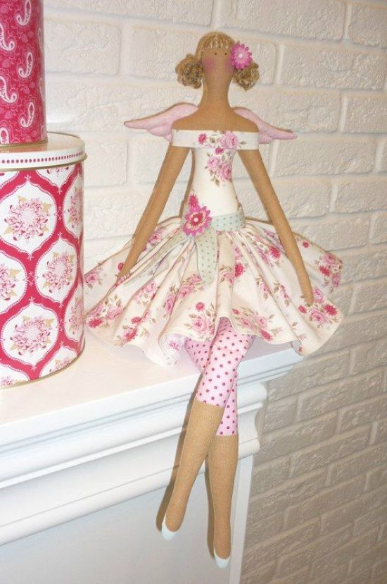 Tilda doll, tilda pattern, tilda angel, tilda fabric