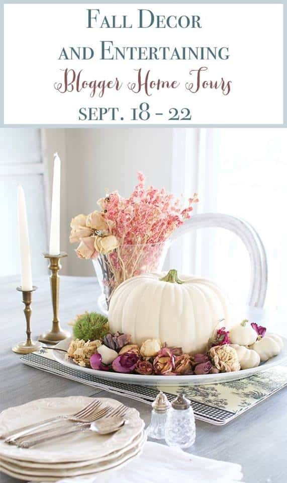 Fall Home Tour, fall decor ideas, diy fall decorating