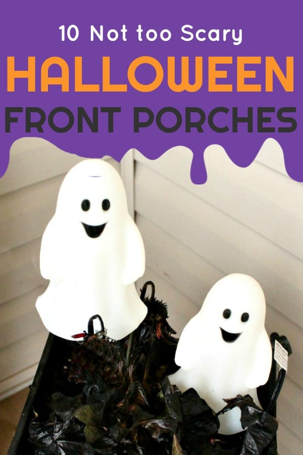 10 DIY Halloween front Porches