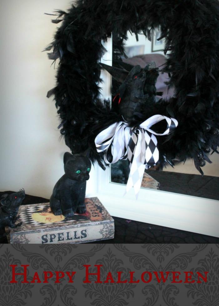 diy halloween wreath halloween craft ideas diy halloween door wreath