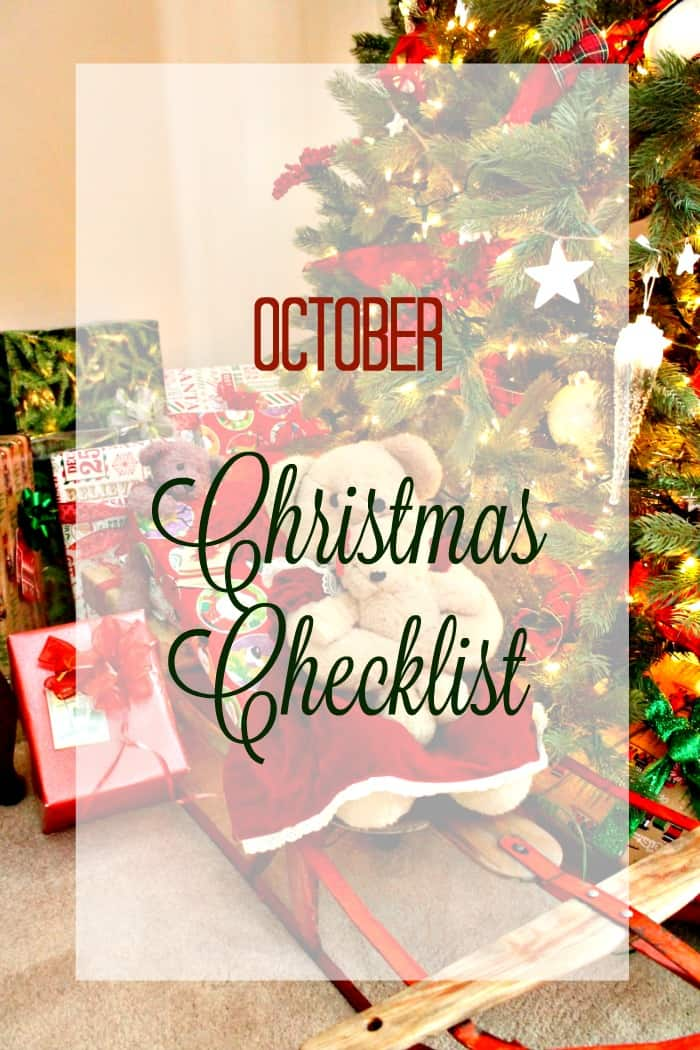 Christmas is coming octobers christmas checklist christmas planner christmas organizerchristmas checklist m4hsunfo