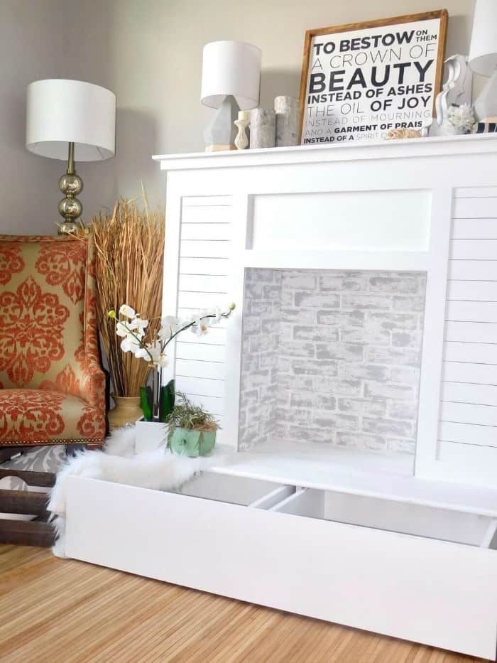 Diy Faux Fireplace Ideas In Time For Christmas