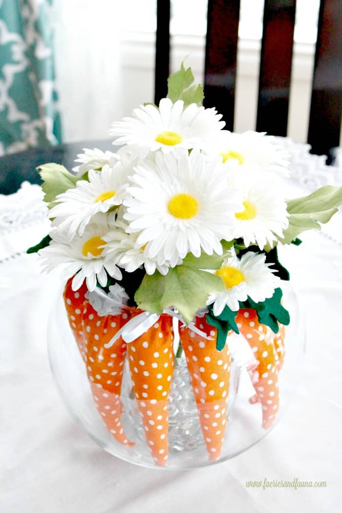 Easter Decorating Ideas Using Mini Carrots Easter centerpiece ideas  Easter Decorating Ideas  Easter decorations to  make  Easter idea