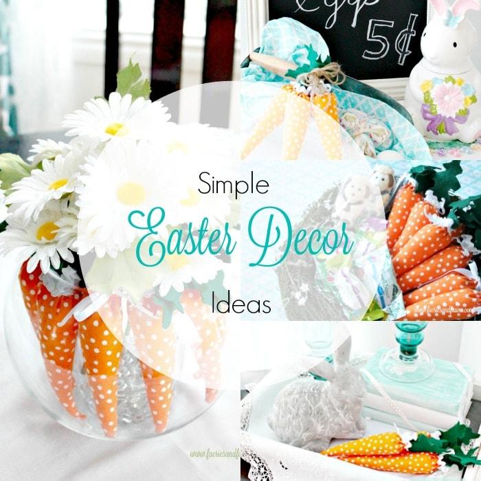 Simple Diy Spring Decor Ideas: Easter Decorating Ideas Using Mini Carrots
