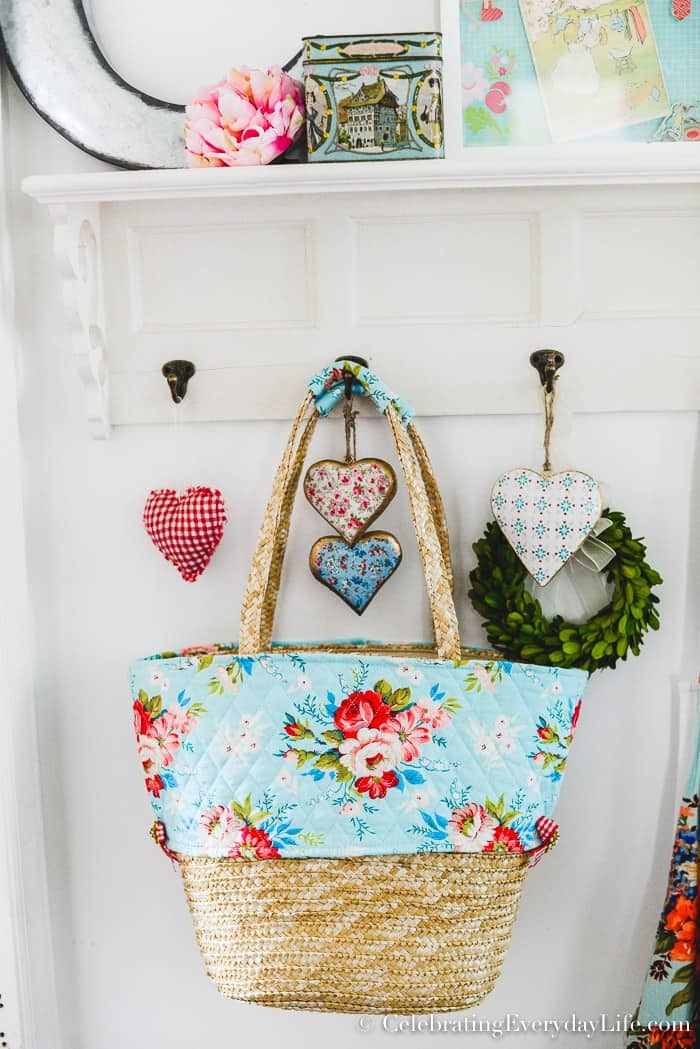 DIY Summer Tote Feature from Waste not Wednesday Link Party