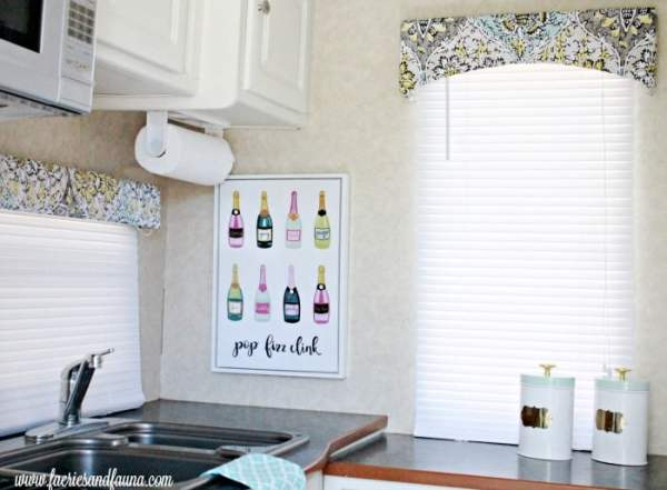 Easy to do RV valance update.
