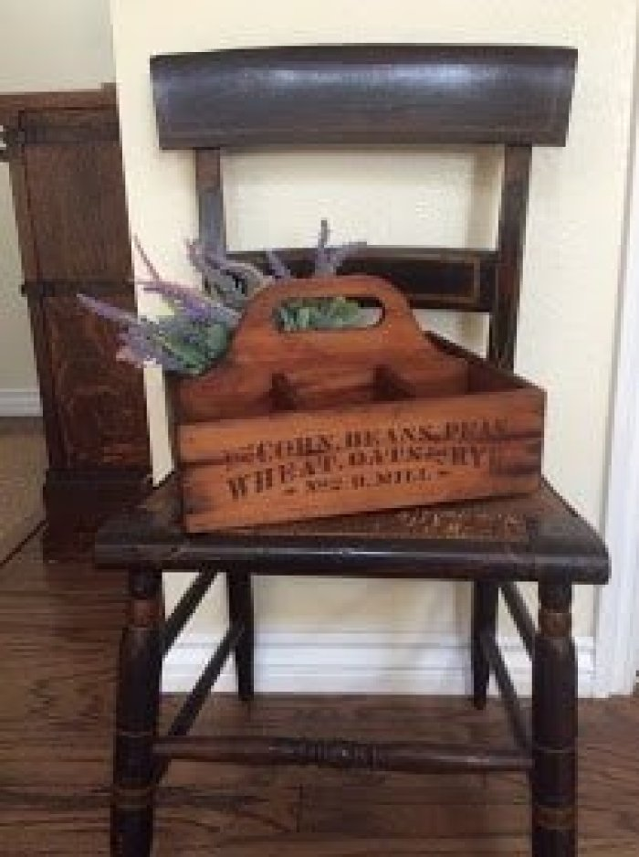 Repurposed Garden Tool Caddy Feature from Waste not Wednesday Link Party