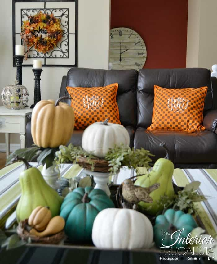 Waste Not Wednesday Feature - DIY Checkered Pillows