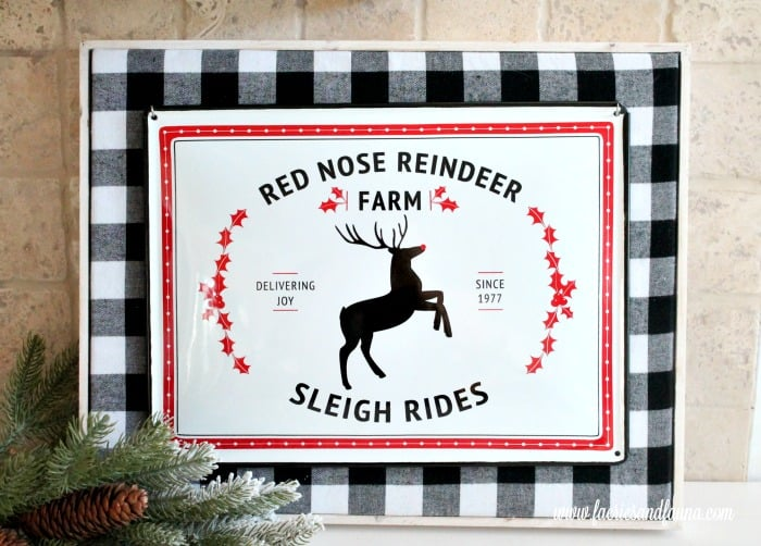 Christmas DIY Sign that is really Easy and Simple