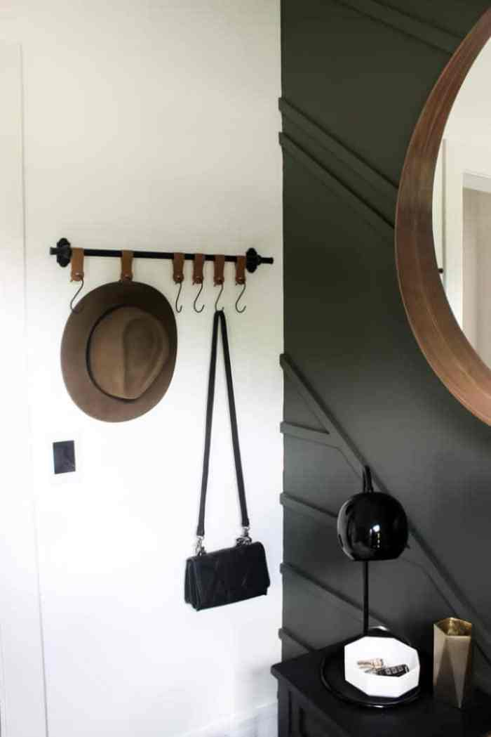 Waste not Wednesday feature modern entry wall hooks