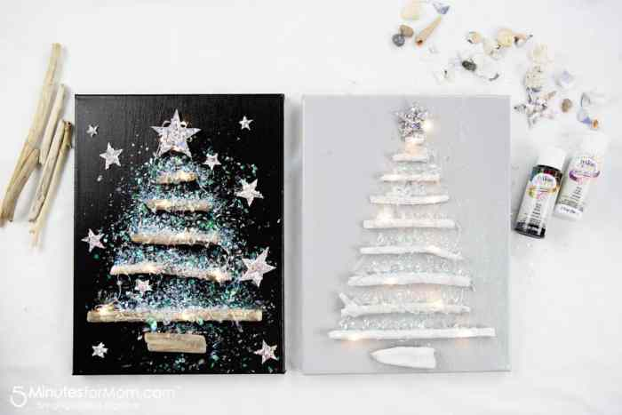 Waste Not Wednesday Feature - Driftwood Christmas Tree Craft