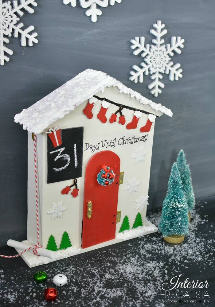 Waste Not Wednesday Christmas Countdown Santa Cottage