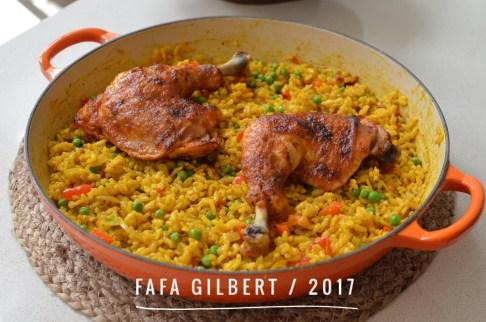 Portuguese rice & Piriri Chicken