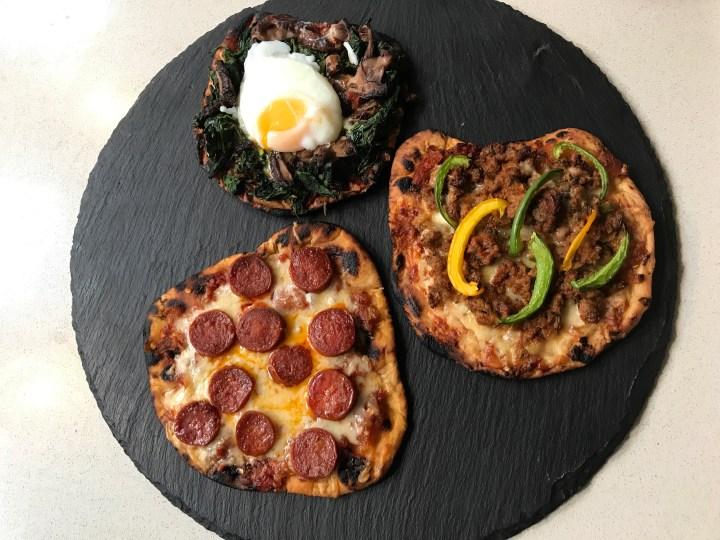 SMOKY FLAT BREAD PIZZA