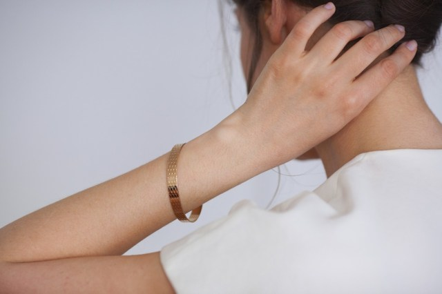 Jonc Large Ecaille - Sélection JAGH Paris