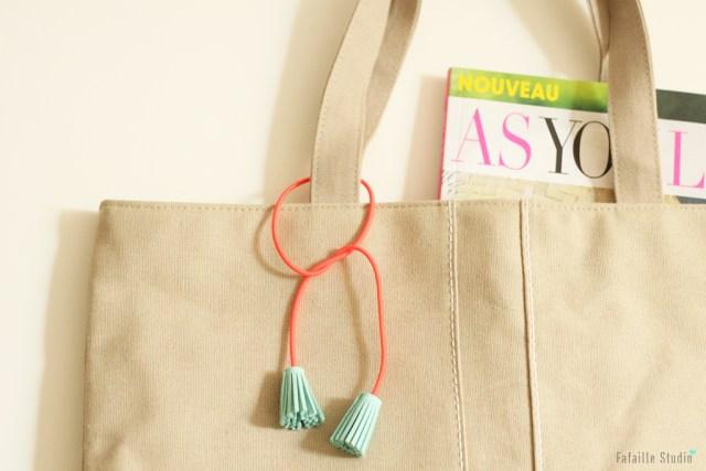 DIY tassel accessoire à franges