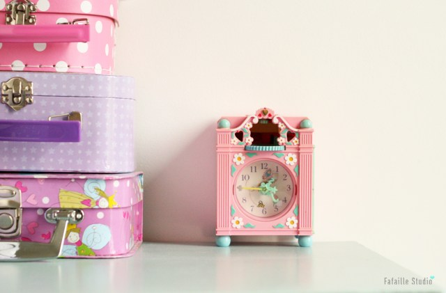 Horloge Polly Pocket rose