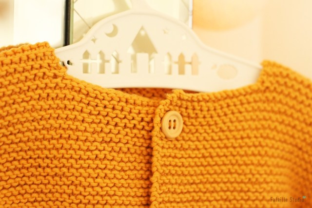Tricoter gilet 3 mois