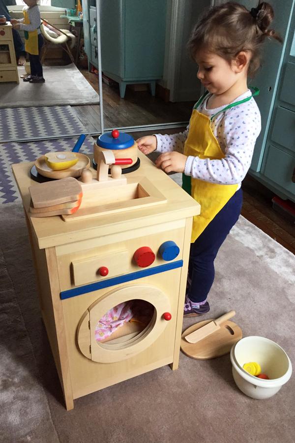 Cuisinière Montessori