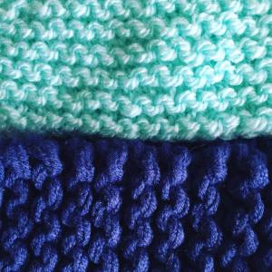 En cours knitting wool knitstagram knittingaddict inprogress diy blue
