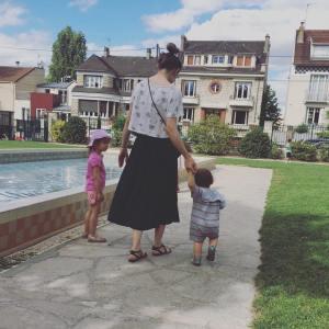 Premier parc debout pour mon petit boy ! fondance milanmacanaille