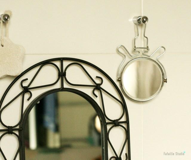 Miroir chat vintage