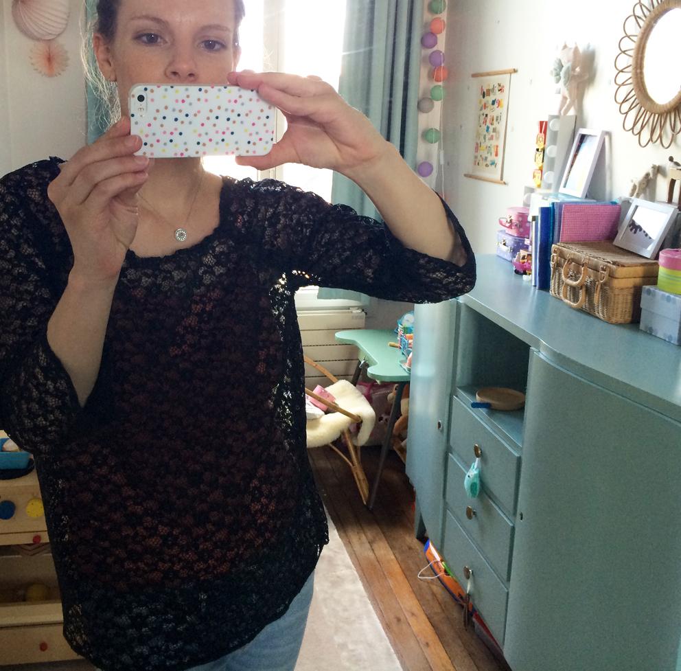 Couture - Ma tunique en dentelle