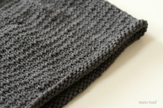 Tuto sac tricoté