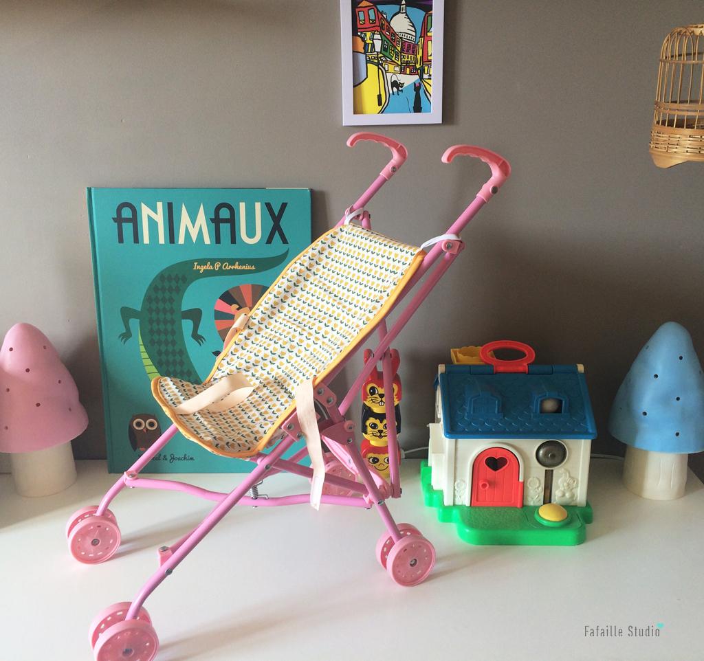Couture - Une nouvelle housse de poussette pour sa poupée