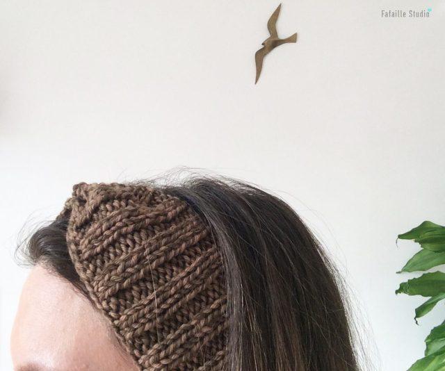 Tuto tricot headband facile et rapide