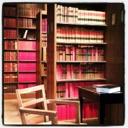 Library stacks at Osgoode Hall