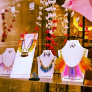Tatty Devine jewelry in Seven Dials