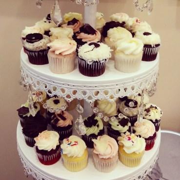 Mini cupcakes close-up!