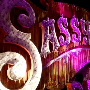 Sassy Saloon's neon sign at the Neon Boneyard.