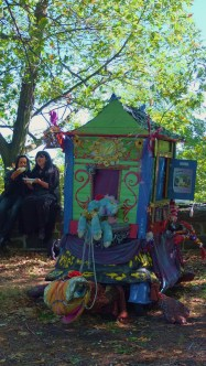 The coolest looking puppet theatre