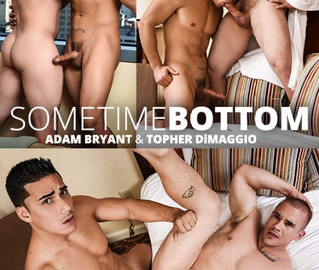 Men Com Adam Bryant Gets Fucked By Topher Dimaggio In Sometime Bottom