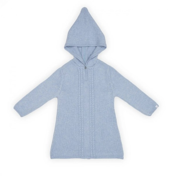 baby cashmere wrapcoat front