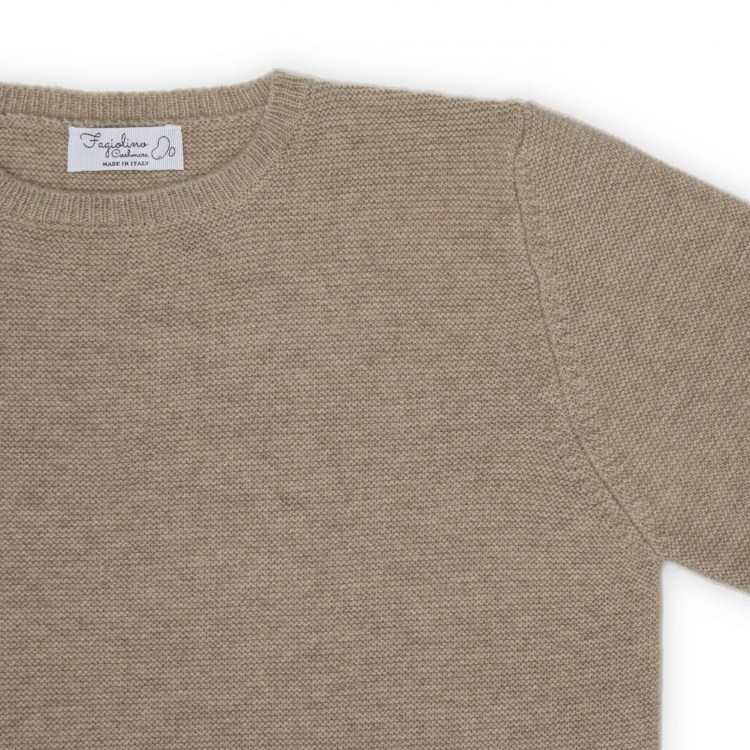 cashmere sweater unisex detail