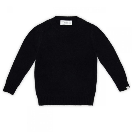 Fagiolino Cashmere Cittino Sweater Navy