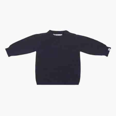 Fagiolino Cashmere Cittino Sweater Blu Notte