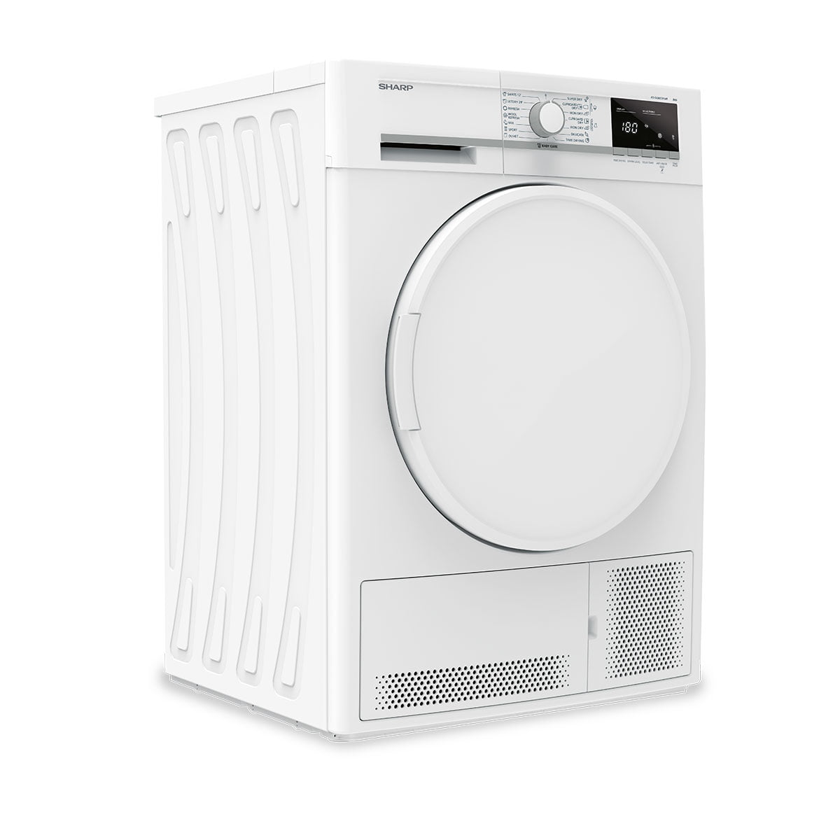 Mašina za sušenje veša 7kg – SHARP KD-GCB7S7PW9